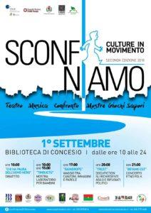 Sconfiniamo - Culture in movimento @ Biblioteca di Concesio | Concesio | Lombardia | Italia