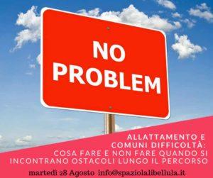 Allattamento no problem @ Spazio La Libellula | Brescia | Lombardia | Italia