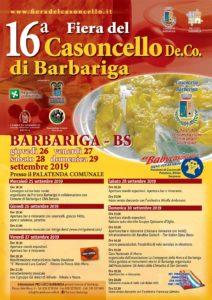 Fiera del casoncello di Barbariga @ Stadio e oratorio Barbariga | Barbariga | Lombardia | Italia