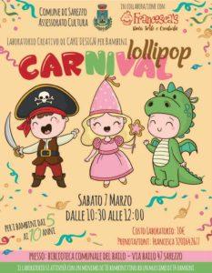 Carnival Lollipop @ Biblioteca Borgo Bailo Sarezzo | Sarezzo | Lombardia | Italia