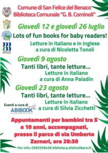 Letture estive a San Felice @ San Felice del Benaco | Lombardia | Italia