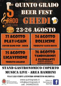 Quintogrado Beer Fest a Ghedi @ Ghedi | Ghedi | Lombardia | Italia