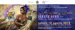 La regina di Saba - Serata Afro @ Parco comunale Manerbio | Manerbio | Lombardia | Italia