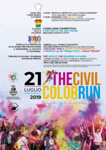 Civil Color Run a Mazzano @ Parco Diamante - sede Alpini di Ciliverghe | Darfo Boario Terme | Italia