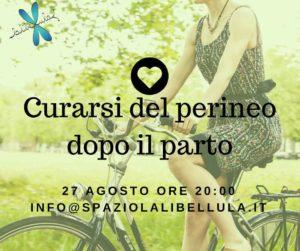 Cura del perineo dopo il parto @ Spazio La Libellula | Brescia | Lombardia | Italia