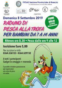 Raduno di Pesca alla trota per bambini @ Ritrovo sul fiume Oglio località Abbeveratore | Montecchio | Lombardia | Italia