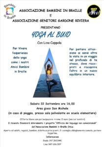 Yoga al buio @ Gardone Riviera | Gardone Riviera | Lombardia | Italia