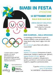 Bimbi in festa @ Arena Beach Cellatica   Cellatica   Lombardia   Italia