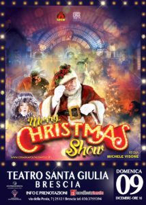 Merry Christmas Show @ Teatro Santa Giulia | Brescia | Lombardia | Italia