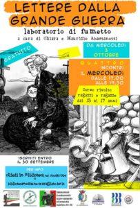 Lettere dalla Grande Guerra - laboratorio fumetto @ Biblioteca Travagliato | Travagliato | Lombardia | Italia