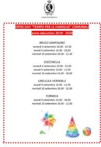 Open day Tempi per le Famiglie @ Tempi Famiglia Brescia - vedi testo