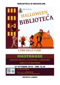 L'ora delle fiabe a Muscoline - speciale Halloween @ Biblioteca Muscoline | Chiesa | Lombardia | Italia