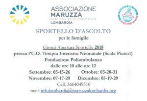 Sportello ascolto Associazione Maruzza @ Fondazione Poliambulanza | Brescia | Lombardia | Italia