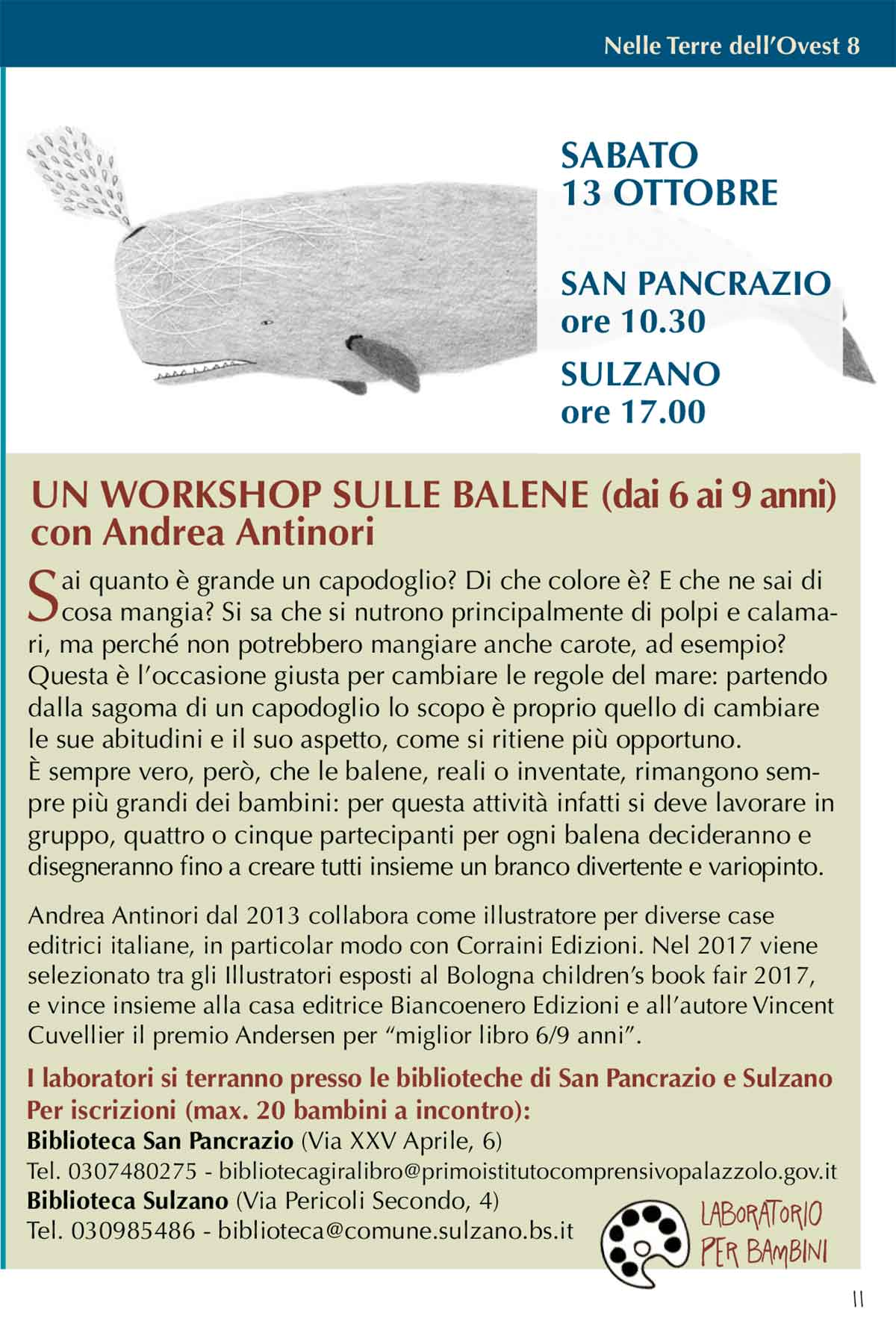 TerreOvest-2018-workshop-balene-laboratorio-bambini