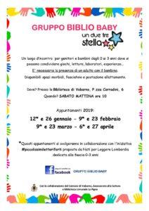 Biblio baby a Vobarno @ biblioteca di Vobarno | Vobarno | Lombardia | Italia