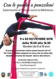 Con le gambe a penzoloni @ Biblioteca di Vobarno | Vobarno | Lombardia | Italia
