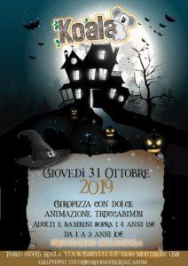 Halloween Party al Koala @ Parco Giochi Koala | Brescia | Lombardia | Italia