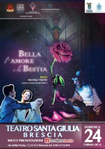 La Bella e la Bestia @ Teatro Santa Giulia | Brescia | Lombardia | Italia