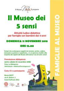 Il Museo dei 5 sensi a Castel Goffredo @ Museo MAST | Castel Goffredo | Lombardia | Italia