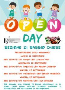 Open day Le Dissonanze [Sabbio Chiese] @ auditorium della scuola media Sabbio Chiese | Sabbio Chiese | Lombardia | Italia