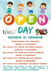 Open day Le Dissonanze [Vobarno] @ biblioteca Vobarno | Vobarno | Lombardia | Italia