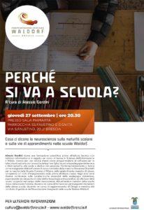 Perchè si va a scuola? @  Sala Piamarta Brescia | Brescia | Lombardia | Italia