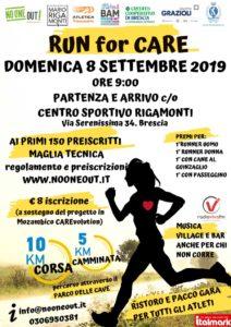 Run for care @ Centro Sportivo Mario Rigamonti | Brescia | Lombardia | Italia