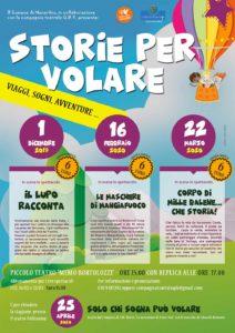 Storie per volare - Teatro per bambini a Manerbio @ Teatro Memo Bortolozzi Manerbio | Manerbio | Lombardia | Italia