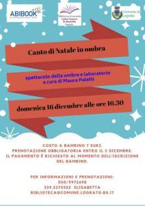 Canto di Natale in ombra a Lograto @ Biblioteca di Lograto | Lograto | Lombardia | Italia