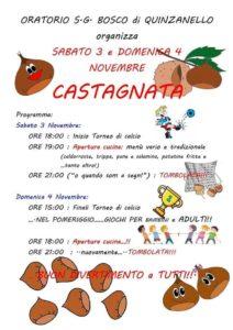 Castagnata a Quinzanello @ oratorio Quinzanello | Quinzanello | Lombardia | Italia