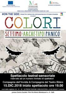 Colori : settimo archetipo panico @ Centro Sociale I Pini - Salò | Lombardia | Italia