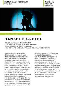 Hansel e Gretel @ Teatro Le Muse Flero | Flero | Lombardia | Italia