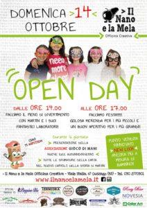 Open day Gioco di Mani @ Officina Creativa Il Nano e la Mela | Piazza | Lombardia | Italia