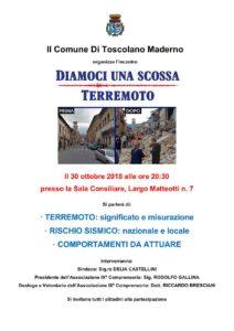 Diamoci una scossa @ Sala consiliare Toscolano Maderno | Toscolano Maderno | Lombardia | Italia