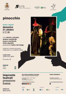 Pressione Bassa - Pinocchio @ Auditorium Gaber Caste Mella | Castel Mella | Lombardia | Italia
