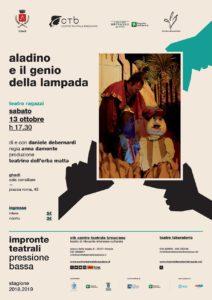 Pressione Bassa - Aladino @ Sala consiliare Ghedi | Ghedi | Lombardia | Italia