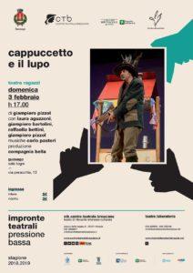 Pressione Bassa - Cappuccetto e il Lupo @ Sala civica Togni Gissago | Piazza | Lombardia | Italia