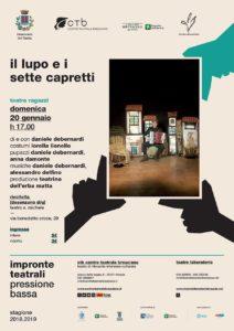 Pressione Bassa - Il lupo e i sette capretti @ Teatro s. Michele - Rivoltella | Desenzano del Garda | Lombardia | Italia