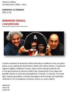 Robinson Crusoe, l'avventura @ Teatro Le Muse Flero | Flero | Lombardia | Italia