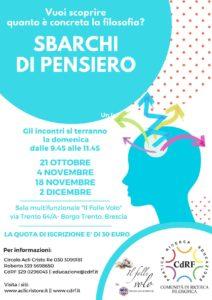 Sbarchi di pensiero @ Sala Il Folle Volo Brescia | Brescia | Lombardia | Italia