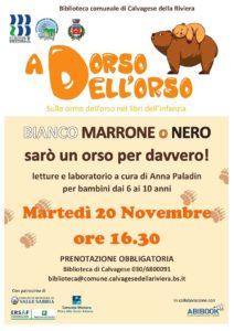 A dorso dell'orso @ Biblioteca Calvagese | Calvagese della Riviera | Lombardia | Italia