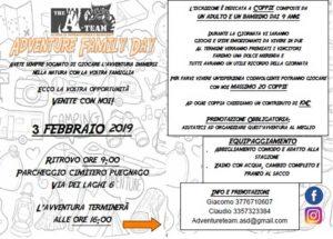 Adventure Family Day @ ritrovo parcheggio cimitero di Puegnago | Lombardia | Italia