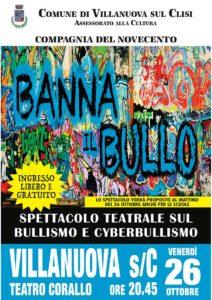 Banna il bullo @ Teatro Corallo Villanuova | Villanuova Sul Clisi | Lombardia | Italia