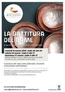 La battitura del rame @ Progetto Internazionale Libera Scuola Waldorf Brescia | Rodengo-Saiano | Lombardia | Italia