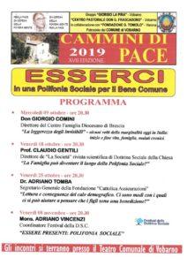Cammini di pace @ Teatro comunale di Vobarno | Vobarno | Lombardia | Italia