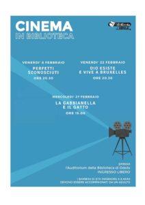 Cinema in biblioteca a Odolo @ Biblioteca di Odolo | Odolo | Lombardia | Italia