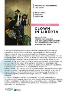 Clown in libertà @ Teatro Le Muse Flero | Flero | Lombardia | Italia