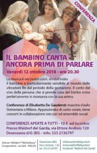 Il bambino canta ancora prima di parlare @ Waldorf del Garda  | Lombardia | Italia