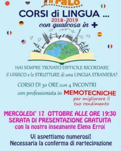 Presentazione corsi di lingue con qualcosa in + @ sede Il Falò corsi | Borgosatollo | Lombardia | Italia