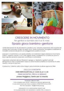 Crescere in movimento 6-16 mesi @ Magigioco | Villaggio Badia, Brescia | Italia